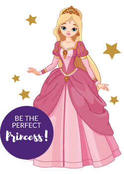 Be the perfect princess!